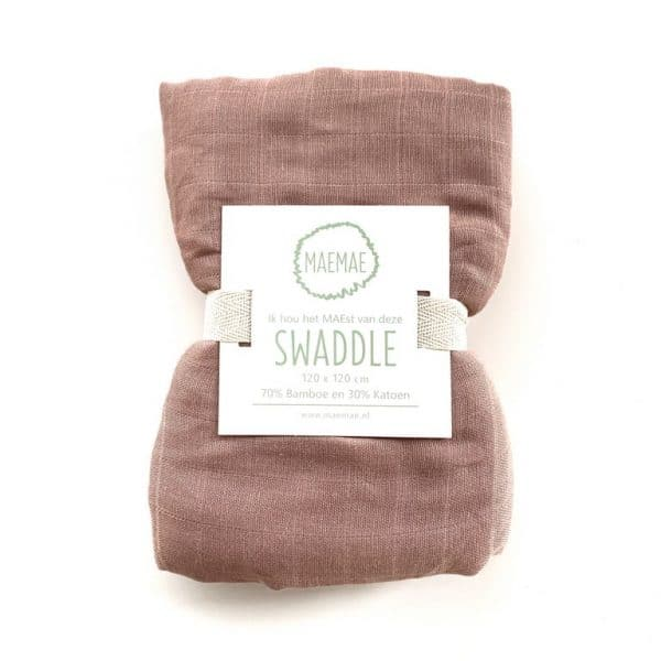 Swaddle misty rose