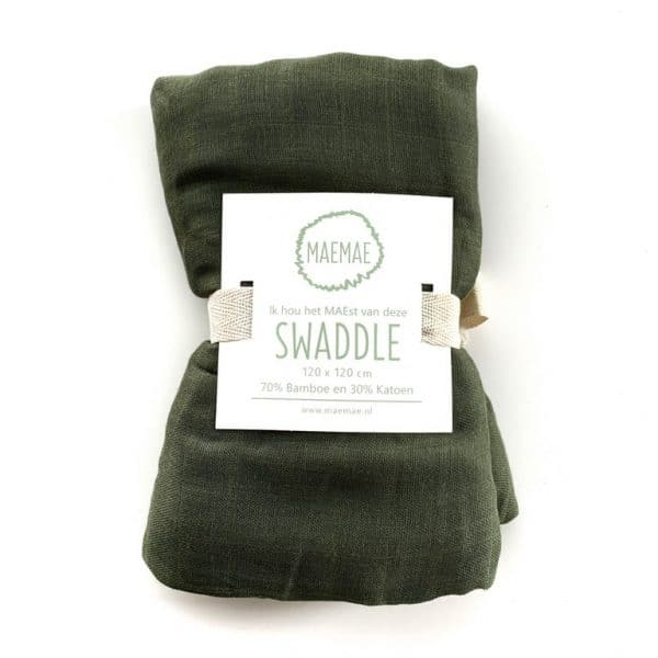 Swaddle moss green